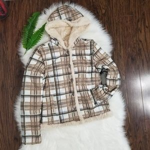 O'Neill | Plaid Convertible Jacket Vest Size Small